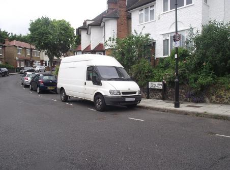 man and van in Bow