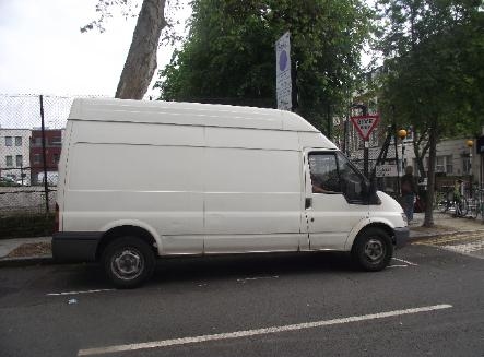 holloway man and van